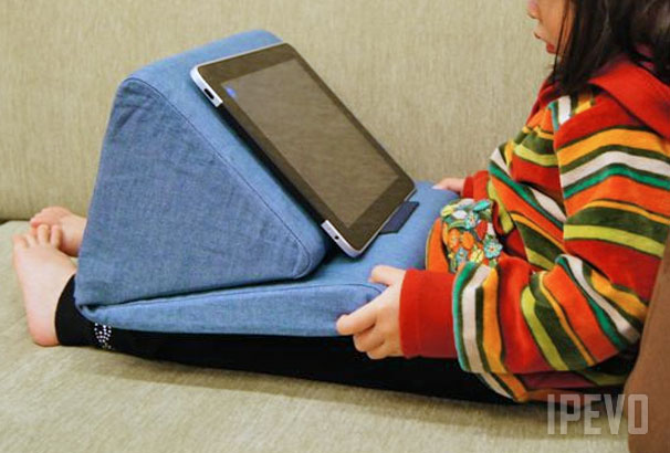 Padpillow Pillow Stand For Ipad Ipevo Design For Learning
