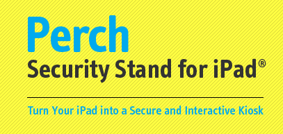 Perch - Security Set for iPad