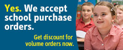 YES. We Accept School Purchase Orders