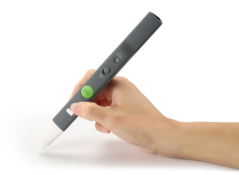 IS-01 is made up of two devices: the Sensor Cam and the Interactive Pen