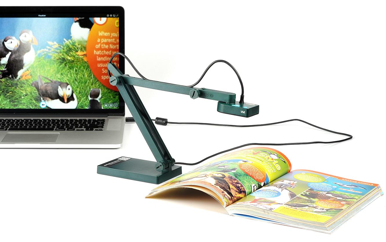 V4K Ultra High Definition USB Document Camera - Overview   IPEVO